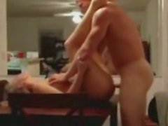 Student Fucks Hot Blonde Waitress