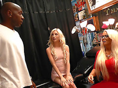 Dog Fart Network - Alura Jenson And Piper Perri By Watching My Mom Go Black