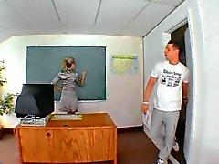 Teacher fucks a student