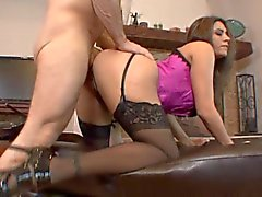 Raylene is horny MILF that lays on her back for a vag hole fucking