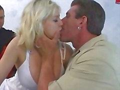 Busty Blonde Banged By Buddy