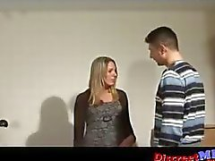 Hot German MILF get fucked by fat cock part 1 of 2