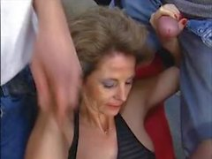 Hot MILF Takes Cock