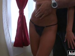 Blonde Diana likes to ride a cock