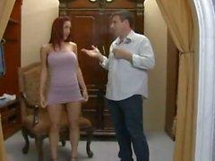Horny Milf cheating on boyfriend with stranger