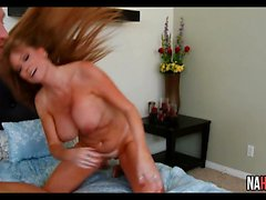 Busty MILF Fucked By Young Cock Darla Crane