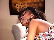 Busty ebony chick gets slammed really hard