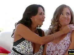 Kendall Ava Addams and Simone Sonay at Mommy