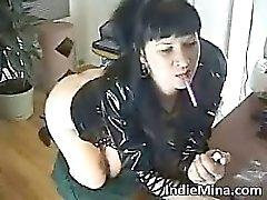 Hot dark haired slut with nice ass