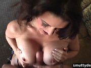 Horny MILF knows how to pleasure her man