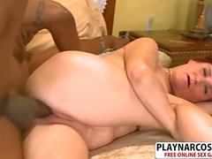 Gorgeous Girlfriend Mom Debi Riding Cock Hard Hot Son