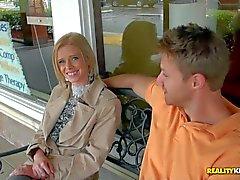 Vanessa was a playful blonde milf in long coat, short : Pornsharing adult tube