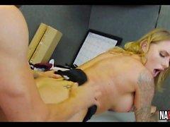 Big Tits Blonde MILF Fucked Hard Juelz Ventura