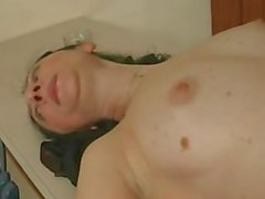 Russian mature housewife and kitchen decorator