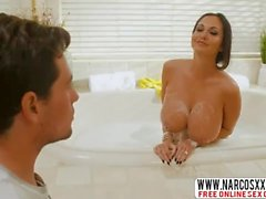 Son Attacked Brunette Mom Ava Addams