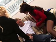 Two hotties get their cunts drilled