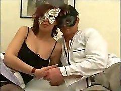 Masked Italian Newbie MILF Takes Ana Anal Ass To Mouth