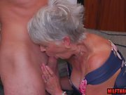 hot milf blowjob and cumshot feature segment 1