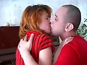 Russian Redhead Mom Helen with Lover