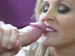 Mom with huge juggs Julia Ann gets a cock
