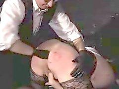 Anal Fisting BDSM Chubby MILF AFM-