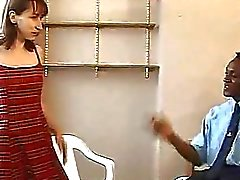 Sexy MILF takes a big black cock up her ass