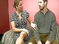 Stepmom Heals Teen Guys Cumswollen Balls