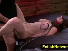 FetishNetwork Dillion Carter rope slave