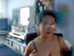 Chinese milf with huge areaolas
