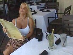 Hot Busty Blonde Cougar Holly Halston--