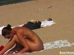 Nudist Shaved Pussies Milfs Voyeur Beach HD Video Spycam