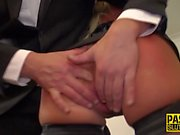 Milf sub in stockings