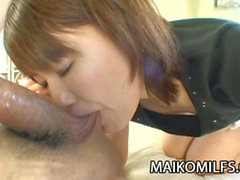 Miki Ando - A Cock Loving Oriental Mom