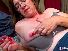 USAwives Hairy Mature and Milf Pussies Got Toys