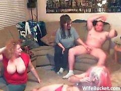 Crazy amateur swing party