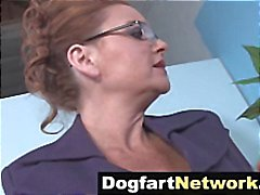 Hot white mom Janet Mason owned by BBC