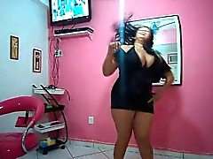 Milf BBW Brazilian Dancing - Very Hot