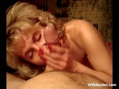 Mommy sucking a hard dick