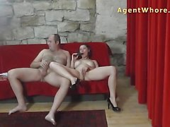 Raunchy milf gets her pussy eaten