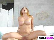 Wet MILF Mia Lelani Gets Drilled