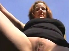 Blackmailing sexy mom for blowjob and sex on Cam