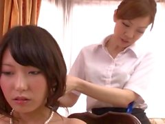 Hot Asian MILF cheats on the unsuspecting bride before weeding