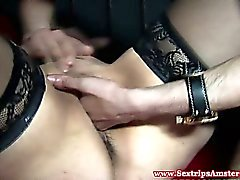 Real mature prostitute has deep throat