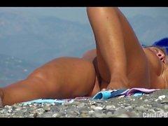 Nudist Milfs Pussy Closeups HD Beach Voyeur Video Spycam