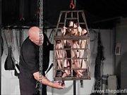 Tit tortured and caged slaveslut