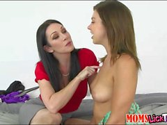 Tara Morgan and RayVeness pussy licked