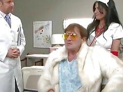 Rebeca LInares porno Hardcore en hospital