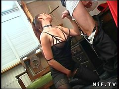 Busty Milf Gets Analed Hard