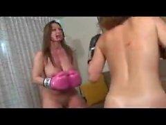Nude Pornstar Boxing