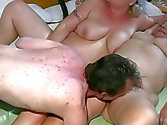 OldNanny Chubby mature and chubby milf is enjoying